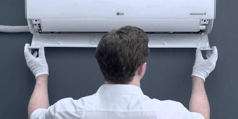 تعویض فیلتر هوای کولر گازی